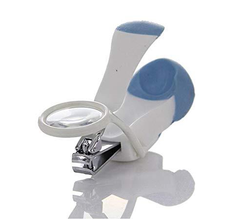 Baby Nail Clippers Magnifier   Baby Beauty Safety Sorgfältig Sauber, Zehen Beschneidung Alten Mann Kurzsichtigkeit,Blue -