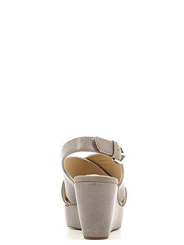Sandales, couleur Marron , marque GEOX, modÚle Sandales GEOX D THELMA Marron Smoke
