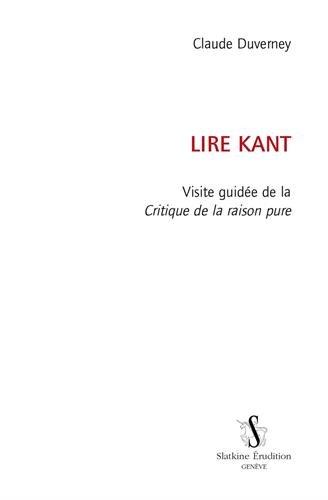 Lire Kant. Visite guidée de la