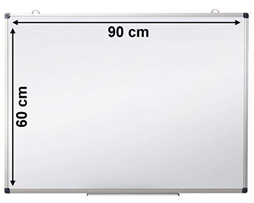 Pizarra blanca magnetica OFIBIT marco aluminio. Alta