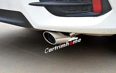 ür Endschalldämpfer, 2 Stück, für Honda Civic 10th Gen 4dr Limousine 16-17 ()
