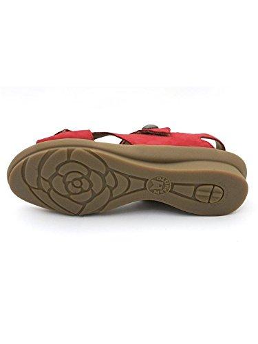 Mephisto  Prudy Bucksoft 6921 Coral, Chaussures à brides femme Rouge