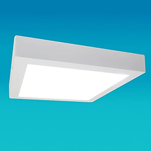 ZHY Pannello LED Luce, 30 luce, Piazza moderna in fusione