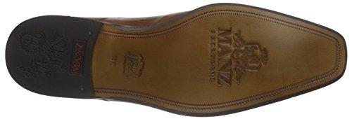 ManzGranada AGO - Scarpe stringate Uomo Marrone (Braun (brandy 175))