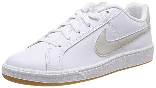 Nike Damen WMNS Court Royale Fitnessschuhe,Weiß (White/Light Bone/Gum Light Brown 115), 38 EU (Frauen Casual Nike-schuhe)