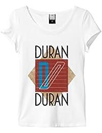 Amplified Duran Duran - Ragged Tiger - Womens White T-Shirt