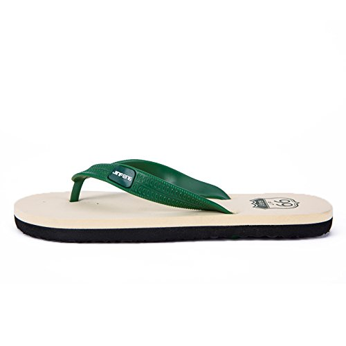 Men's Chaussons, Tongs d'été pour hommes pour hommes, pieds antidérapants, espadrilles occasionnels green