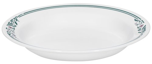 Corelle Livingware 15-Ounce Rimmed Soup/Salad Bowl, Rosemarie by CORELLE Corelle Rosemarie