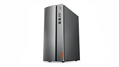 Lenovo IdeaCentre 510 Desktop-PC (AMD A10-9700, 8GB RAM, 1TB HDD, 128GB SSD, AMD Radeon R7, Windows 10 Home) silber