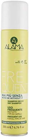 Alama Professional Shampoo Secco per Tutti I Tipi di Capelli - 200 ml