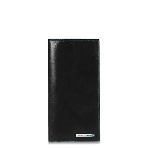Piquadro PP3248B2/N Blue Square Porta Documenti, Nero, 18 cm