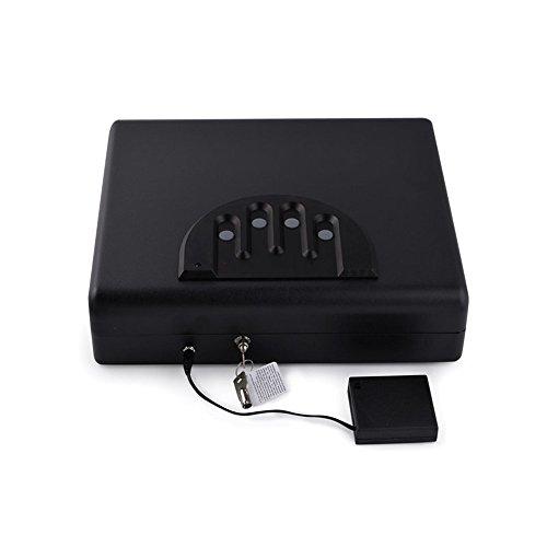 HAIT Portable Lock Box Jewelry Handgun Caja Fuerte Oculta En El Coche...
