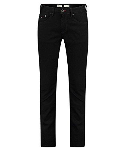 Tommy Hilfiger Herren Core Denton Straight Jean, Schwarz (Clean Black 919), W33/L32 (Indigo Lauren Jeans)