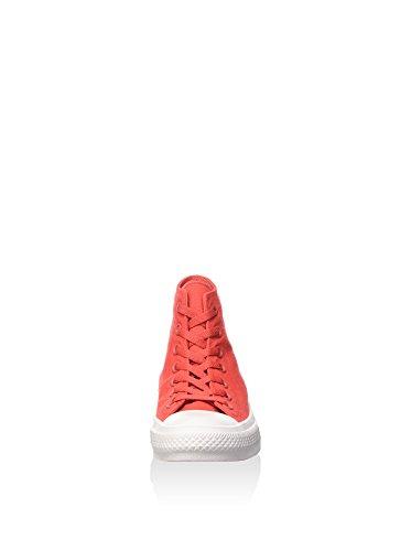 Converse Herren CTAS II Hi Sneakers Rot/Weiß