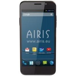 Airis TM52Q 4GB Negro - Smartphone (SIM doble, Android, GSM, Micro-USB, Concha, ARM)