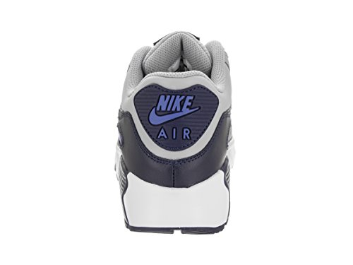 Nike Air Max 90 Ltr Gs, chaussure de sport garçon Gris (Wolf Grey/binary Blue/comet Blue/white)