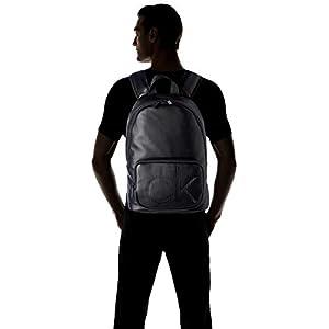 316FmSbjpXL. SS300  - Calvin Klein Ck Up Round Backpack - Shoppers y bolsos de hombro Hombre