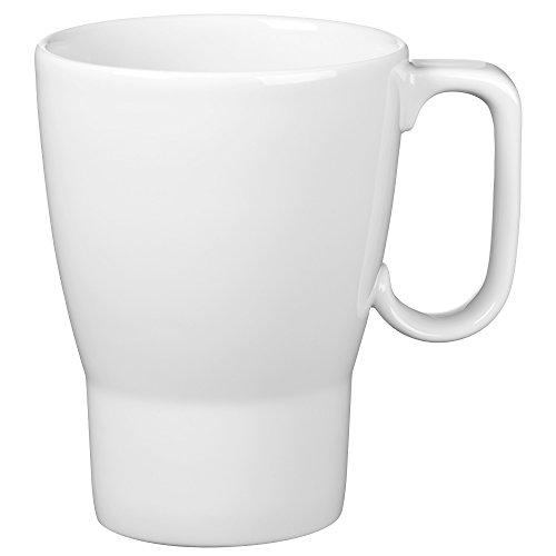 WMF Barista Kaffeebecher, mit Henkel, 380 ml, Porzellan, spülmaschinengeeignet