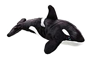 National Geographic- Orca Schwertwal Peluche, Color Negro (9770730)