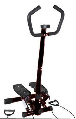 Stepper Fitness Stepper Sidestepper Trainingsbänder LCD-Display