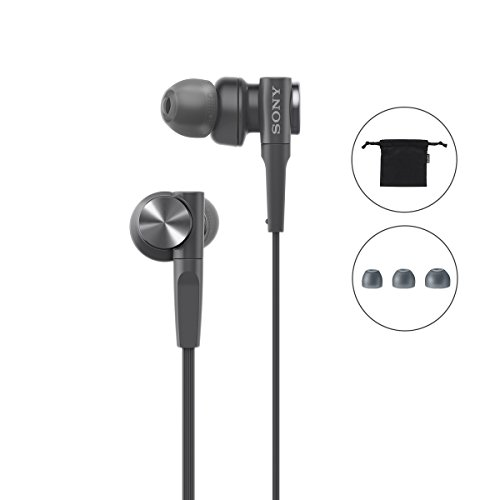 Sony MDR-XB55 Extra-Bass in-Ear Headphones Without Mic(Black) Image 6