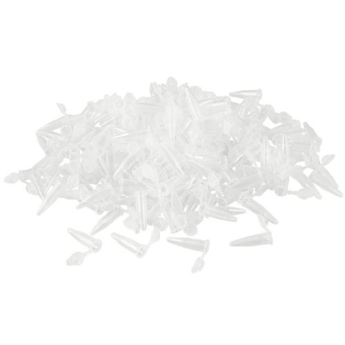 1000Stück Labor CLEAR weiß Mark bedrucktem Kunststoff Zentrifuge Tube 0,5ml