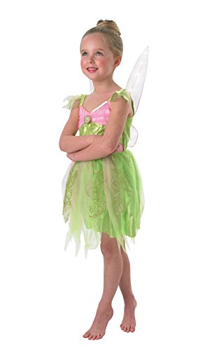 Tinker Bell - Light Up - Disney - Bambini Costume - Medium - 116 Centimetri