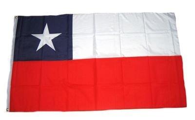 Preisvergleich Produktbild Fahne / Flagge Chile NEU 90 x 150 cm Flaggen