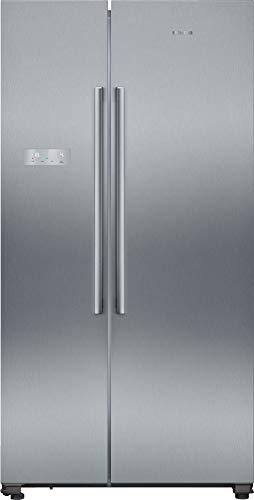 Siemens iQ300 amerikanischer Side-by-Side Kühl-Gefrier-Kombination KA93NVIFP / noFrost-Technik gegen Eis- und Reifbildung / touchControl-Elektronik / multiAirflow-System / IceTwister