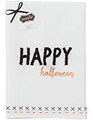 Mud Pie Happy Halloween French Knot Towel