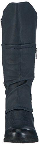 Rieker Damen 93151 Kurzschaft Stiefel Blau (ozean/pazifik/ozean / 14)