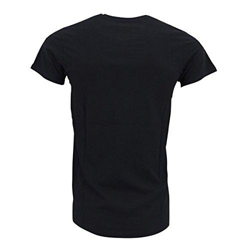 Religion Clothing Herren Shirt We Live Our Lives Jet Black