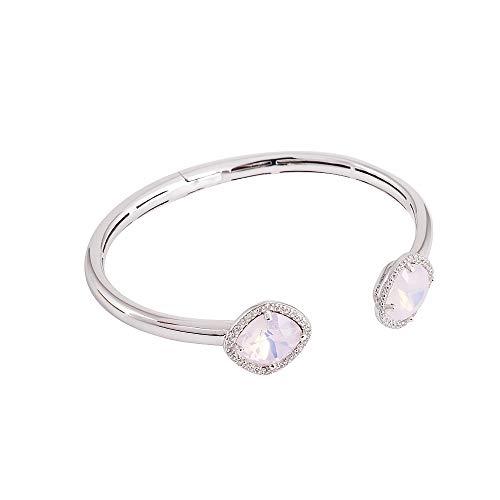 Rosa Silber Armband mit Swarovski Kristalle - Silberarmband für Frauen mit Kristallen von Swarovski von Marmara Sterling