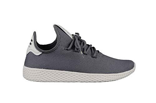 adidas Unisex Pharrell Williams Tennis Hu Sneaker Farbe: Grau; Größe: EUR 40 2/3   US 7.5   UK 7