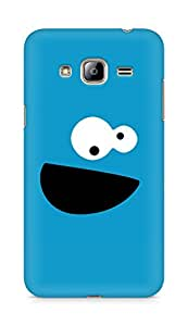 Amez designer printed 3d premium high quality back case cover for Samsung Galaxy J3 (2016 EDITION) (Cookie Monster)