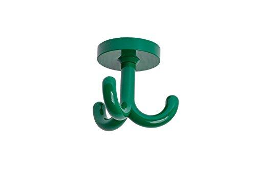 Design-dreifach-haken (GedoTec® Dreifachhaken Drehhaken Deckenhaken RAL 6029 Minzgrün   Kleiderhaken Polyamid Kunststoff drehbar   Markenqualität für Ihren Wohnbereich)