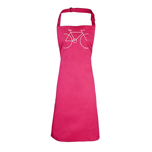 Ride Like The Wind Fahrradschürze für Kinder, zum Kochen und Grillen, einfach, rose, Junioren - Junioren Rose