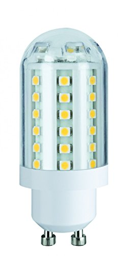 LED high-voltage pin base 3.5W GU10 230V warm white