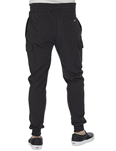 Bench Circulate - Pantalon - Homme Noir (Jet Black BK014)