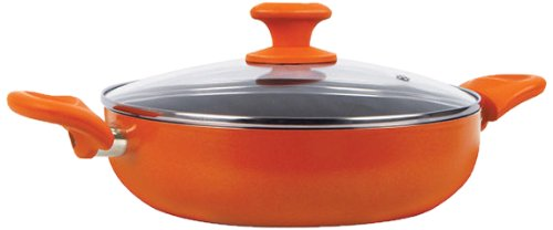 Prestige Crème Non-Stick Curry Pot, 26cm