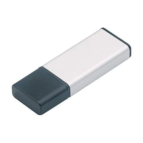 Outflower. Memorias USB Creativo Unico Simple Elegante Alta Velocidad Transmisión Plata 2GB