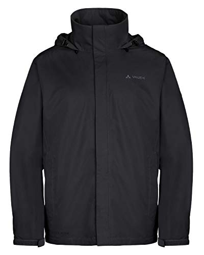 VAUDE Herren Men\'s Escape Light Jacket Jacke Jacke Escape Light Jacket, Black, 58 (Herstellergröße: XXXL)