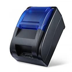 CYSNO BIS Certified 58MM USB 5890K Thermal Receipt Printer (New Arrival), High Speed Printing 90mm/SEC, Compatible with ESC/POS Print Commands Set BIS Certified