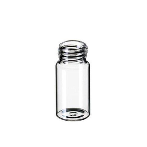 neoLab 7-0858 EPA Gewindeflaschen, ND24, 140 x 27.5 mm, Gewinde 24-40, 60.0 mL, Braunglas (100-er Pack)