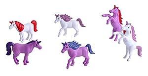 Wild Republic- Figuras de Juego Unicornios, pequeño, Cubo Adventure Bucket Mini, 10 cm, 6 Piezas, (23149)
