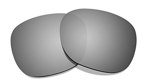 Littlebird4 1,5mm Polarisiert Ersatz Linsen für Oakley Garage Rock-Mehrere Möglichkeiten, Silber