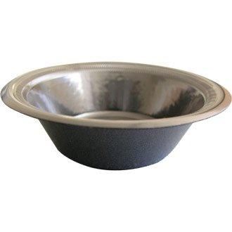Winware - Vaisselle jetable - Bol. 340,2 Gram. Boîte quantité 125 (Premium stratifié en Mousse Vaisselle en Noir. Non-Absorbant et fuites. avec Bords Edge