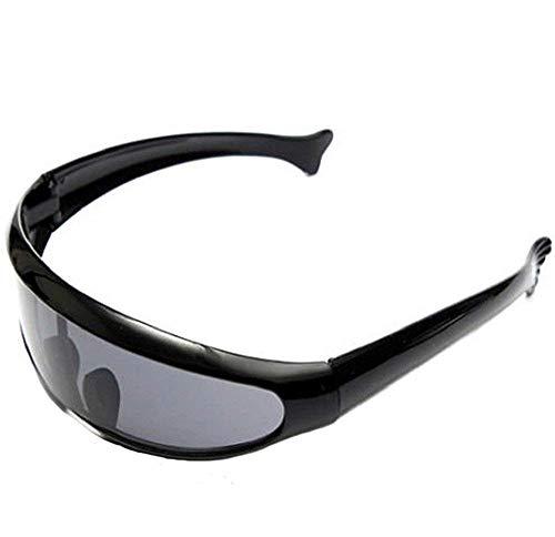 Inception Pro Infinite (Schwarzer Rahmen - Schwarze Linse) Sonnenbrillen - Sport - Ski - Radfahren - Motorradfahren - Unisex - Herren - Damen - Sport - Brillen