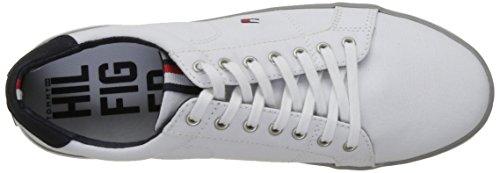 Tommy Hilfiger Herren H2285arlow 1d Sneakers Weiß (White)
