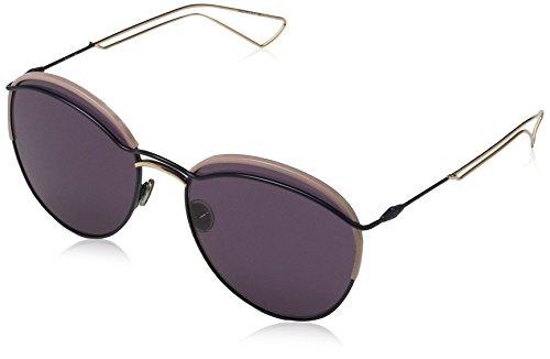 Dior Damen DIOROUND C6 O3O Sonnenbrille, Blau (Bluette Sl/Dark Purple), 57